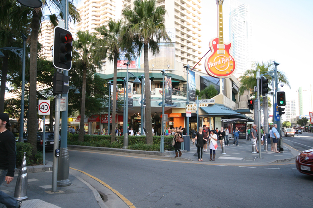 Photo: Entertainment 7 Site of the former Surfers Paradise Hotel, now the Hard Rock Cafe, corner of Cavill Avenue and Surfers Paradise Boulevarde, Surfers Paradise, Queensland, circa 2010 [picture] / Cal Mackinnon, photographer. Asset name LS-LSP-CD1198-IMG057