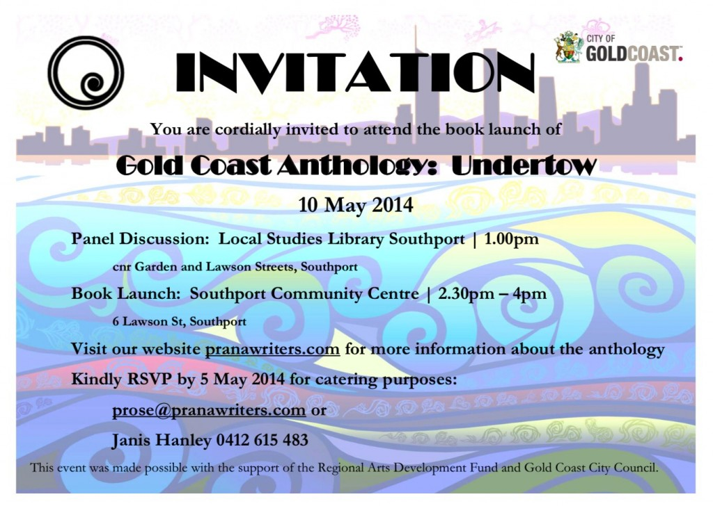 Gold Coast Anthology Book Launch
